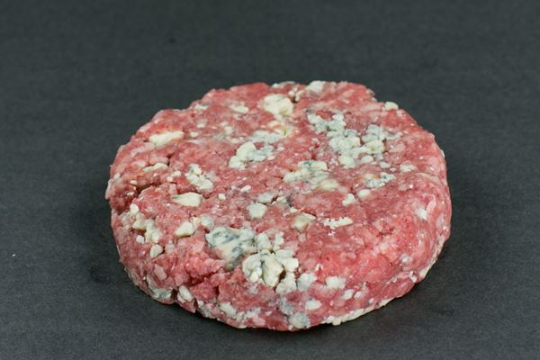 Picture of Hand-Pressed Black Angus Chunky Bleu Cheese Beef Burgers