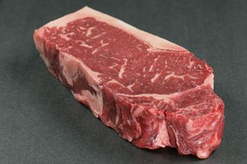 Picture of USDA Choice Black Angus New York Strip Steak